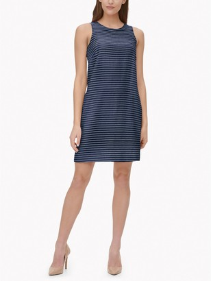 Tommy Hilfiger Essential Seersucker Shift Dress