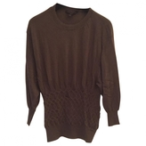 Louis Vuitton Taupe cashmere top