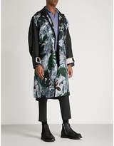 Oamc Flower Power Woven Parka Coat