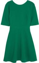 Dolce & Gabbana Stretch-wool Crepe Mini Dress - Green