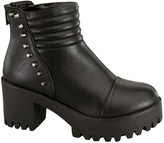 Black Imani Spike Boot
