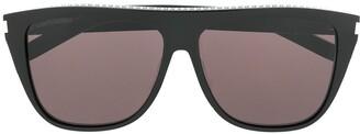 Saint Laurent Eyewear rhinestone embellished sunglasses