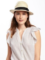 Old Navy Straw Panama Hat for Women
