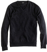 J.Crew Tall cotton-cashmere V-neck sweater