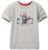 Lucky Brand Skater Bear Tee (Little Boys)