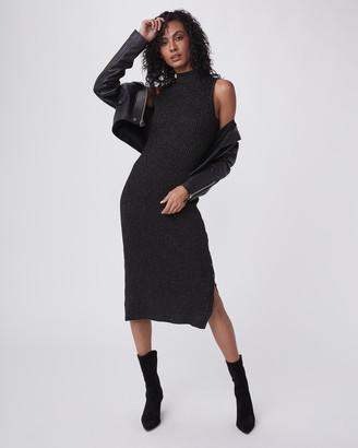 Paige Zariah Dress-Black/Gunmetal