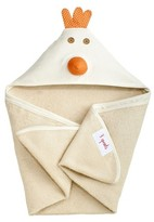 3 Sprouts Newborn/Infant Hooded Towel - Chicken