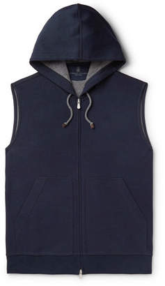 Brunello Cucinelli Cotton-Blend Jersey Gilet