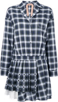 No.21 tartan shirt dress - women - Silk/Cotton/Acetate - 38