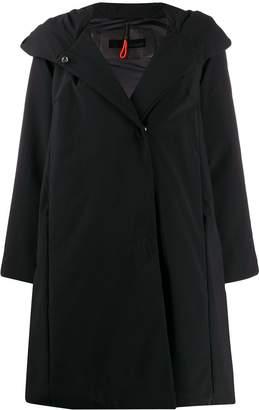 RRD flared boxy fit rain coat
