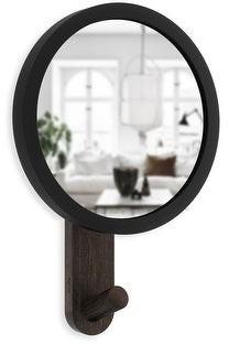 Umbra Hub Mirror Hook Single Black/Walnut