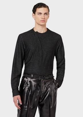 Emporio Armani Lurex-Yarn Shirt
