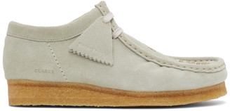 Palm Angels Grey Clark Originals Edition Wallabee Moccasins