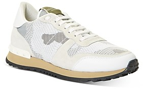 Valentino Women's Rockrunner Lace Up Sneakers
