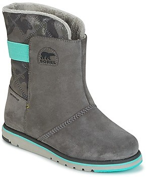 Sorel YOUTH RYLEE CAMO girls's Snow boots in Grey