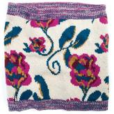 Muk Luks Women's Floral Funnel Scarf