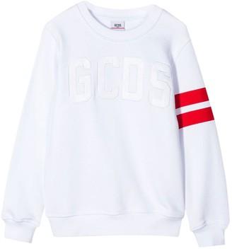 GCDS Kids Athletic Sweatshirt