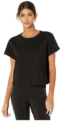 Michi Flash Top (Black) Women's Clothing