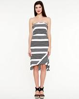 Le Château Stripe Jersey Sleeveless Dress