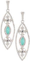 Armenta New World Marquise Doublet Drop Earrings w/ Diamonds
