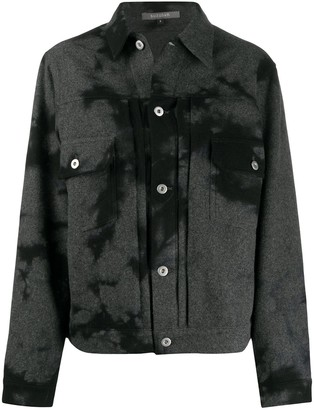 Suzusan Tie-Dye Wool Jacket