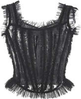 Dolce & Gabbana Sleeveless Tulle Top