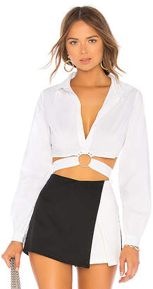 by the way. Roxanne O Ring Tie Top