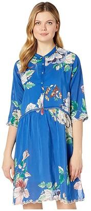 Johnny Was Ella Slip Dress (Multi) Women's Clothing