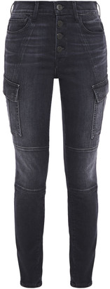 3x1 Faded Mid-rise Skinny Jeans