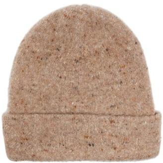 Acne Studios Peele Ribbed Wool-blend Beanie Hat - Beige