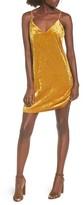 BP Women's Velvet Slipdress
