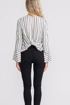 Lush Stripe Foil Top