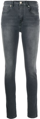 Victoria Victoria Beckham Mid-Rise Skinny Jeans