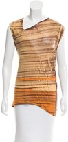 Raquel Allegra Printed Sleeveless Top