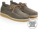 Yogi Men's Lawson Crepe Sole Suede Shoe