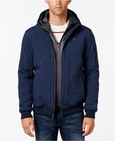 Tommy Hilfiger Soft-Shell Bomber Hooded Jacket