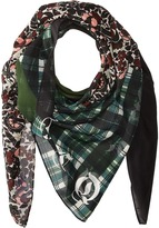 McQ by Alexander McQueen Patchwork Scarf Scarves