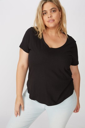 Cotton On Curve The One Scoop Tee