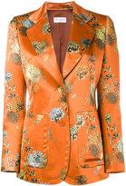 Dries Van Noten Blunt floral print blazer