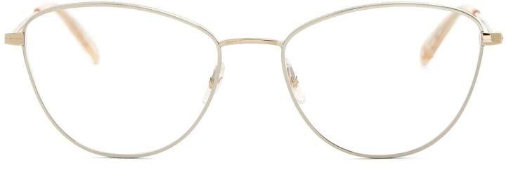 Garrett Leight Olive 51 cat-eye glasses