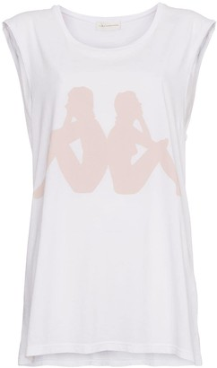 Faith Connexion x Kappa sleeveless cotton tank top