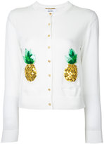 Muveil pineapple embroidered cardigan - women - Cotton - 38