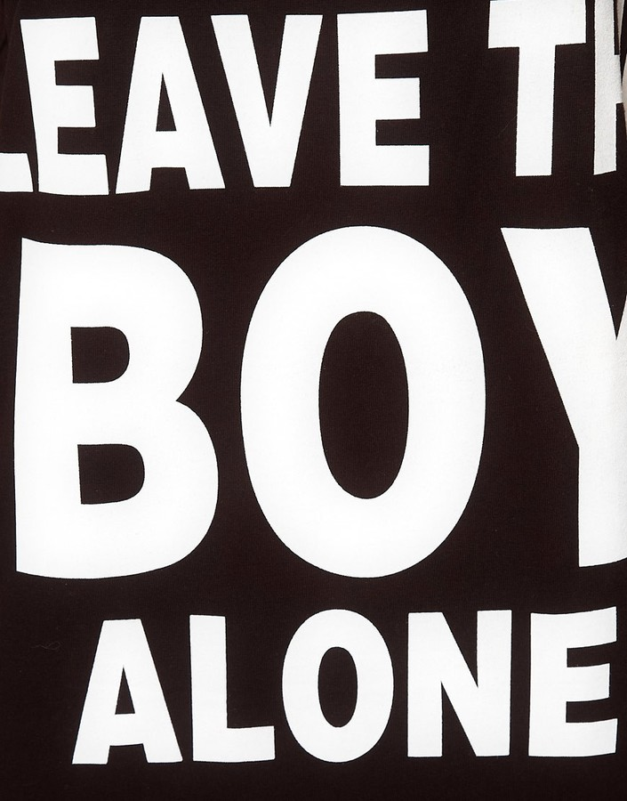 Boy London 'Leave The Boy Alone' Tank