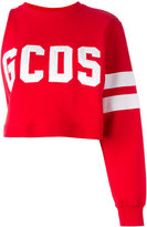 Gcds one sleeve sweatshirt