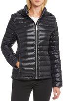 Calvin Klein Horizontal Puffer Packable Down Jacket