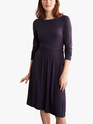 Boden Abigail Jersey Dress, Navy