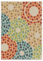 Orian Rugs Polka Circles Promise Indoor/Outdoor Area Rug - Multicolor