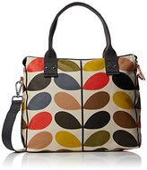 Orla Kiely Multi Stem Zip Messenger Shoulder Bag