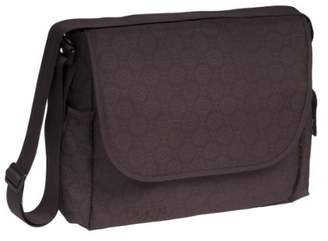 Lassig Marv MMB0640 Changing Bag Messenger Bag - Modern Retro Choco