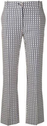 Valentino Logo Print Trousers